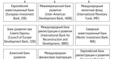 Международные финансовые организации, в долговые обязательства которых могут размещаться средства ФНБ