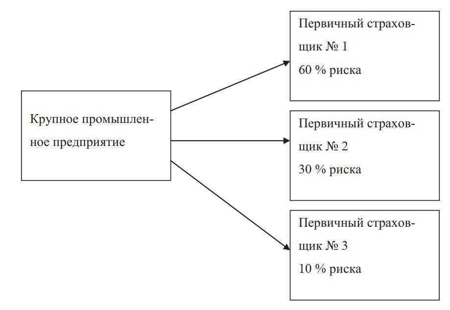Схема сострахования в страховом бизнесе