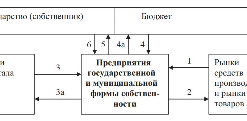 Система денежных потоков при государственном и муниципальном финансировании